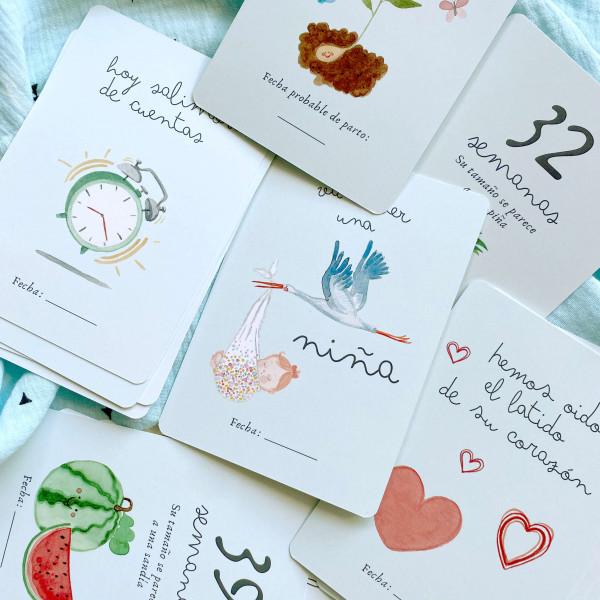 EMBARAZO CARDS para foto